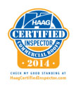 HAAG Certified Commercial Roofing Inspector